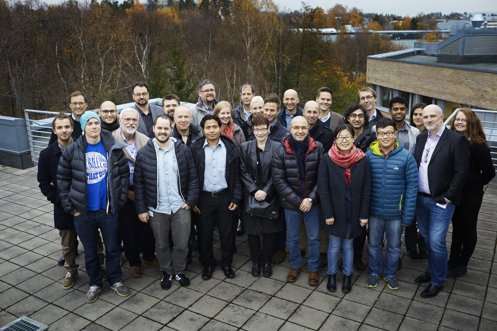 The Certus team and partners. Photo: Certus/Bård Gudim.